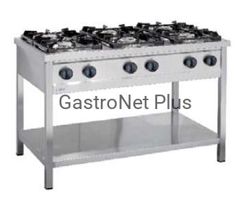 Kuchnia Gazowa 6 Palnikowa Moc 375 Kw Gaz Gz 50